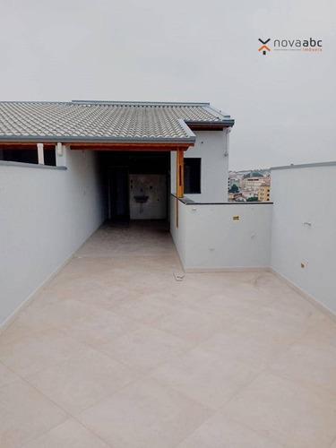 Imagem 1 de 18 de Cobertura Com 2 Dormitórios À Venda, 52 M² Por R$ 400.000,00 - Parque Das Nações - Santo André/sp - Co0684