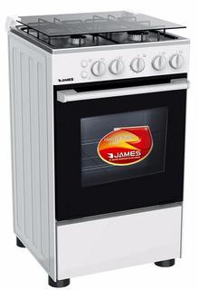 Cocinas Gas O Supergas James 505 Termocupla 4 Hornallas Pcm