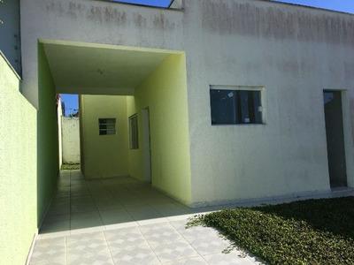 Casa Em Peruíbe-sp, 2 Quartos E 2 Banheiros - 4577/p