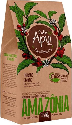 Imagem 1 de 5 de Café Apuí Agroflorestal 100% Orgânico 250g - Manioca