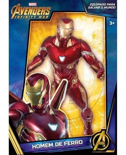 Boneco Homem De Ferro 45cm Guerra Infinita Marvel - Mimo
