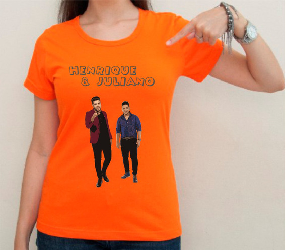 Camiseta Ou Baby Look Henrique E Juliano 02