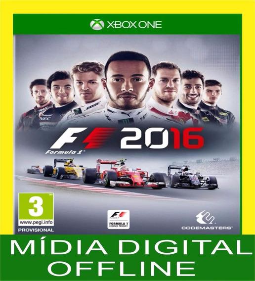 F1 2016 - Formula 1 2016 - Xbox One Xone - Português