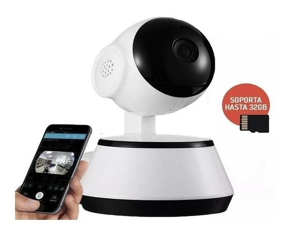 Camara Seguridad Zoom Wifi Ip Infrarrojo Obturador P2p 32gb