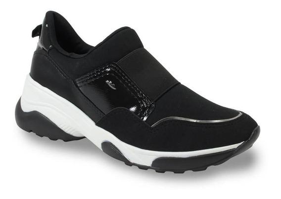 Tênis Dakota Slip On Sneaker Chunky Neoprene Preto G2482