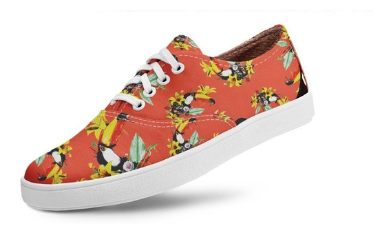 Tênis Usthemp Volare Vegano Casual Tropical South