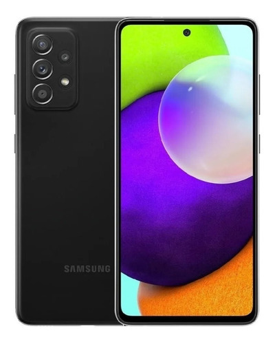Samsung Galaxy A52 128 GB awesome black 6 GB RAM