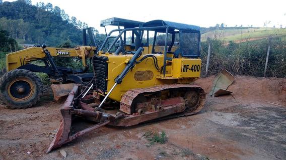 Trator De Esteira Mf400