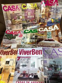 Revistas Decoração 28...casa Claudia,jardim,viver Bem,decore