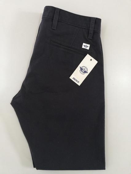 Pantalón Dockers Alpha Khaki - Azul Oscuro
