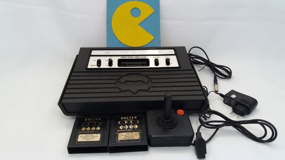 Atari Apple Vision + Controle + Jogos. Em Ótimo Estado!!!
