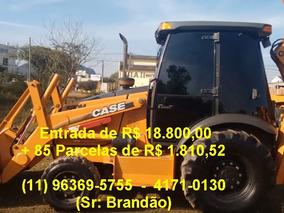 Case 580 M, 2013, Novissima, Unico Dono, Gabinada Com Ar