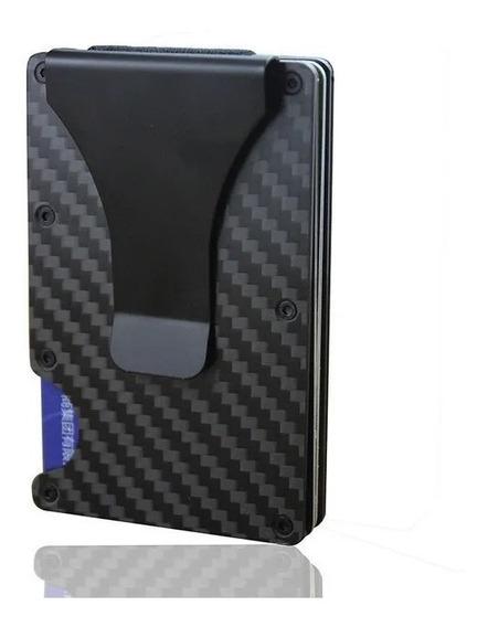 Billetera Tarjetero De Carbono Foxbox Slim Wallet Compacta