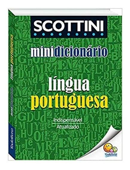 Exclusivo Mini Dicionario Portugues Scottini Atualizado
