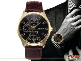 Relógio Elegante, Luxo + Estojo! Frete Grátis! Promoção!