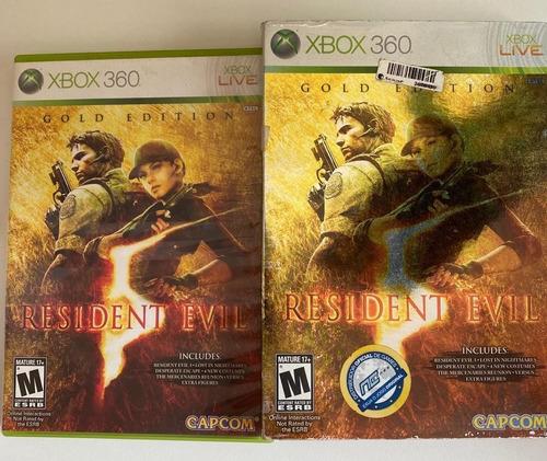 Resident Evil 5 Gold Edition | Xbox 360 | Caixa Completa