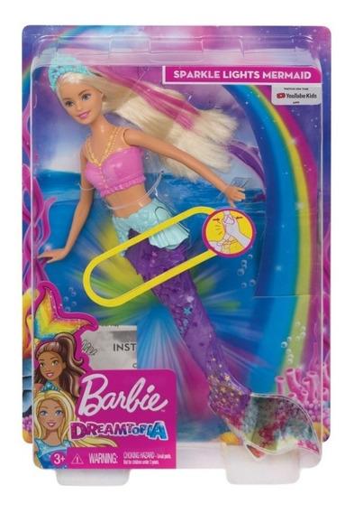 Boneca Barbie Dreamtopia Sereia Arco-íris Gfl82- Mattel