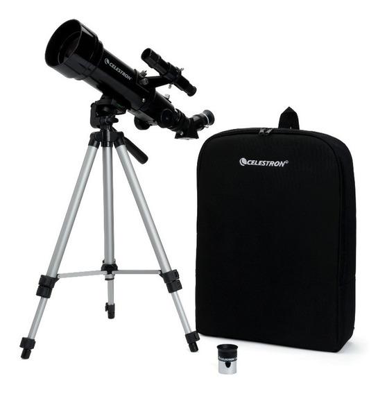 Telescópio Celestron Travel Scope 70 W/backpack