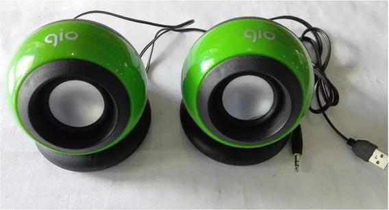 Cornetas Para Computadoras, Pc Usb, Marca Gio Sonido C550