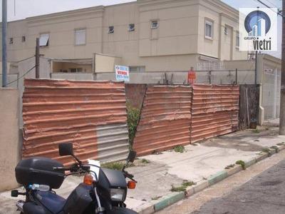 Terreno Residencial À Venda 22,50 X 40 , Vila Pereira Barreto, Sao Paulo. - Te0260