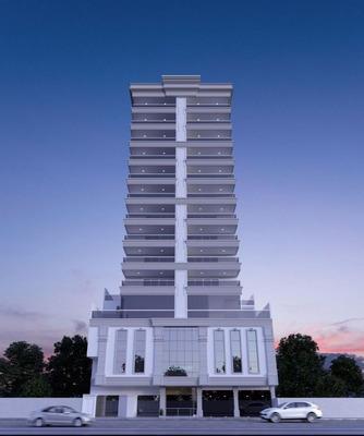 Apartamento Residencial Costamare, Com 4 Suítes Na Meia Praia Em Itapema. - Ap044