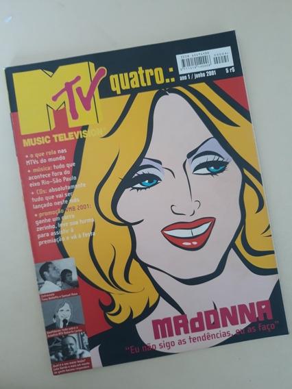 Revista Mtv 04 Madonna Samuel Rosa Roberto Carlos Tony Bello