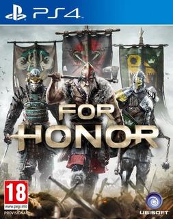 For Honor Ps4+ 2 Juegos Adicionales