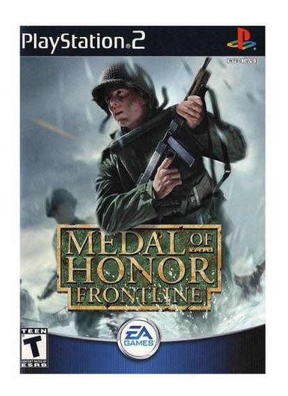 Jogo Medal Of Honor - Frontline (usado) Ps2 Original