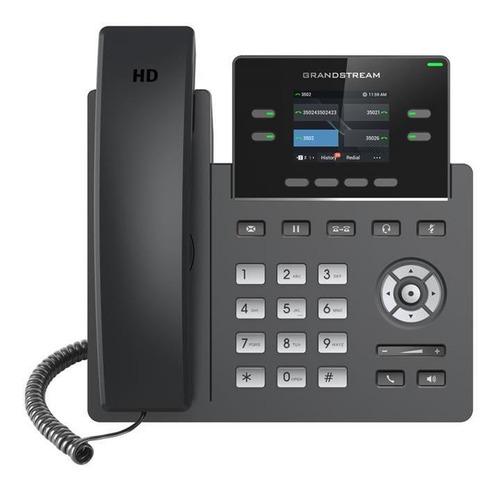 Imagen 1 de 4 de Telefono Ip Grandstream Grp2612p 2 Sip 16 Teclas Virtuales