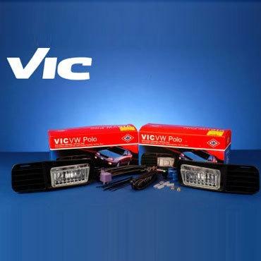 Kit Faros Auxiliares Vw Polo 1996 1997 1998 1999 2000 Vic