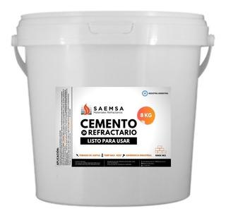 Cemento Refractario 1m2 8kg Parrillas Hogares Envíos Al País