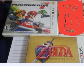 Zelda Ocarina Of Time/mario Kart7