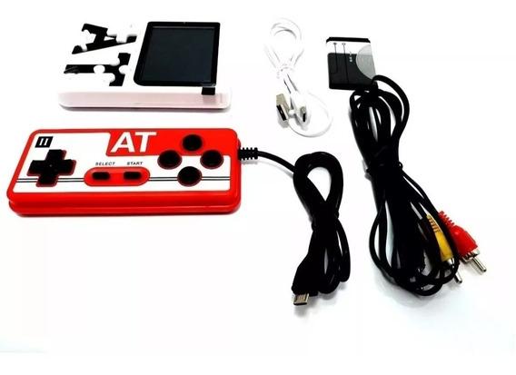 Mini Vídeo Game Retro Clássico 400 Jogos Barato Game At-002