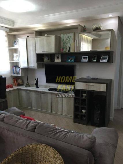 Apartamento Com 3 Dormitórios À Venda, 60 M² Por R$ 330.000 - Vila Paulista - Guarulhos/sp - Ap1483