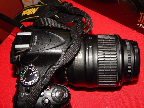 Nikon D5200 Com 1 Lente 18-55mm E 1 Lente 50mm (yongnuo)