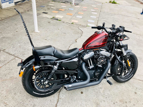 Harley Davidson Forty Eight-2017 Hard Candy Hot Rod Red Flak