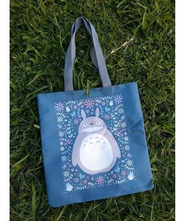 Tote Bag Cartera De Anime Mi Vecino Totoro Ghibli Miyazaki