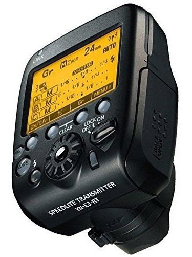 Transmissor Wireless Yongnuo Speedlite Para Canon Yn-e3-rt