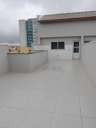 Cobertura Com 2 Dormitórios À Venda Por R$ 420.000,00 - Parque Das Nações - Santo André/sp - Co0288