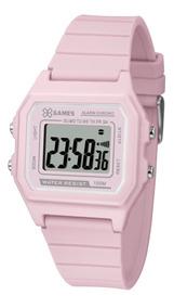Relógio X-games Feminino Digital Xlppd026 Rosa Lançamento