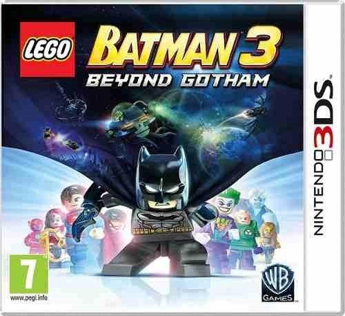 Juego Nintendo 3ds Lego Batman 3 Fisico Nuevo
