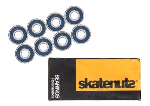 Imagem 1 de 1 de Rolamento Skate Profissional Skatenuts Berings Longboard