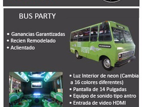 Bus Party 18 Pasajeros