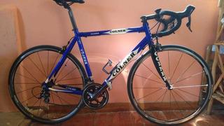 Bicicleta Ruta Colner Cuadro Aluminio 56 Grupo Shimano 105