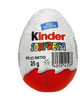 Huevo Kinder Sorpresa Chocolates X24 Unidades Pedidetucasa