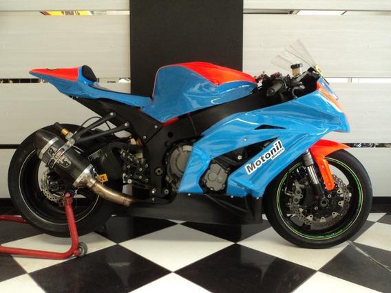 Kawasaki Ninja Zx10 R De Pista 2012 Documentada