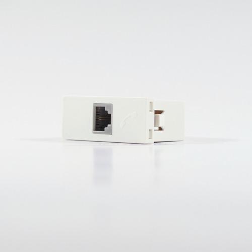 Imagen 1 de 3 de Modulo Teléfono Americano 2 Pin Blanco Cambre 6931