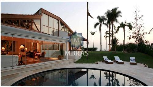Casa Espetácular, Em Um Dos Melhores Condomínios De Alphaville, Tamboré 1. - Mb10639