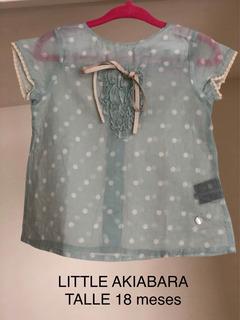 Blusa Bebe Little Akiabara