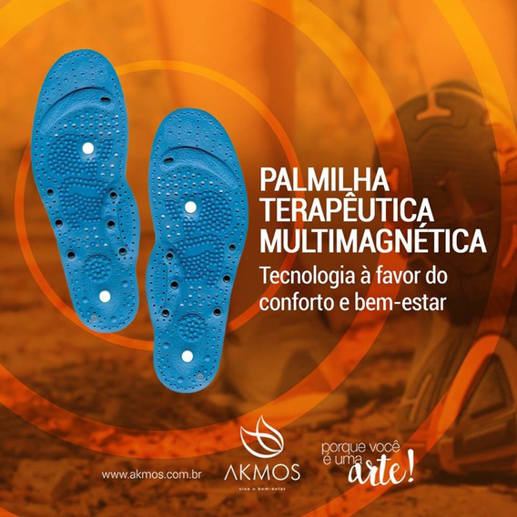 Palmilhas Terapêuticas Multimagnéticas Akmos